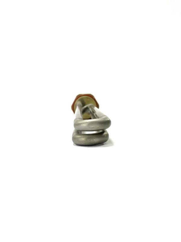 Lay-Z-Spa Style Heater 2kw 240v Replacement brass Head Egg Model 1 ELEMENT LOOPED 205mm 20mm Centre
